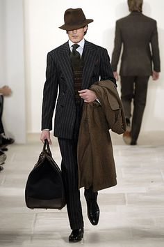Ralph Lauren | Fall 2006 Menswear Collection | Style.com