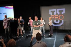 Leadership Coaching Corps member Matt Kominiak getting down at PRO Summit Week