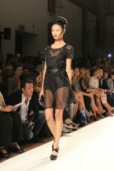 Black Star Style: Paola Frani fashion show Spring/Summer 2014