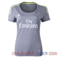 Camiseta mujer Real Madrid 2015 2016 segunda
