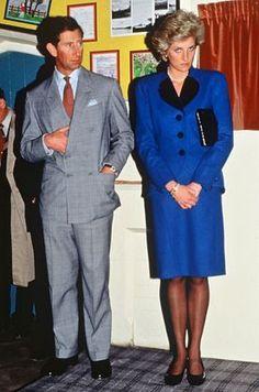 Prince Charles and Princess Diana. Princess Diana Hair, Princess Diana Wedding, Prince And Princess, Princess Of Wales, Real Princess, Lady Diana Spencer, Spencer Family, Elizabeth Ii, Diana Fashion