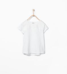 ZARA - KIDS - Flower cut-out T-shirt