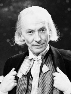 And the man that started it all, even before regeneration was a thing, the original, The First Doctor-William Hartnell.