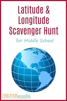 With this hands-on geography lesson and scavenger hunt, teens will build their mapping skills while learning how to find countries using their coordinates. Teaching Map Skills, Teaching Maps, Teaching Geography, Teaching History, History Education, Geography Classroom, Education Uk, History Class, Science Classroom