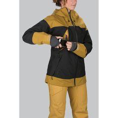 Dakine Beretta Damen Jacket Ski-/Snowboard Jacke Black Buckskin