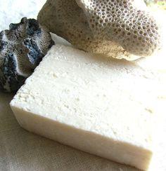 Lavender Mint Sea Salt Soap #vegan #handmade