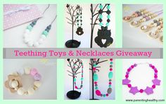 #Giveaway: Little Sunshine Boutique Teething Toys and Necklaces