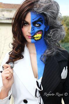 Female Two-Face by Lydiaburton17.deviantart.com on @deviantART