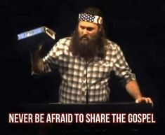 The Gospel is Christ, Christ is the Anointing. The Gospel is the Grace. Jesus is the Grace. Christian Faith, Christian Quotes, Robertson Family, Willie Robertson, Sadie Robertson, Love The Lord, My Love, Duck Commander, Duck Dynasty