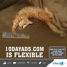 10dayads.com is Flexible #postfreeadsclassifiedinusa #freeclassifiedsitesinusa