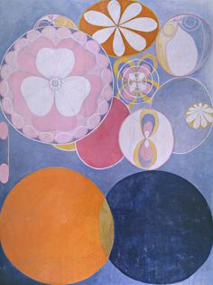 The Ten Largest, No 2, Childhood. Group IV, 1907 by Hilma af Klint, 1932