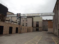 The Macallan Distillery - Craigellachie, Moray, Scotland.