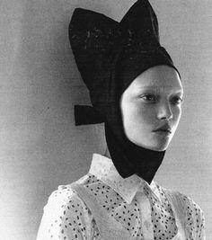 """Organized Robots"" Gemma Ward shot by Steven Meisel Vogue Italia March 2006"
