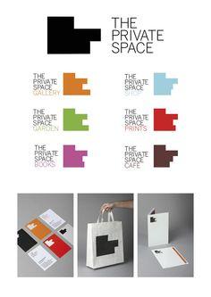 Plata Laus 2012 | Identidad corporativa pequeña y mediana empresa |  Título: THE PRIVATE SPACE |  Autor: Losiento |  Cliente: The Private Space