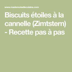 Biscuits étoiles à la cannelle (Zimtstern) - Recette pas à pas Biscuits, Desserts, Drink, Almond, Cooker Recipes, Noel, Cinnamon, Thermomix, Crack Crackers