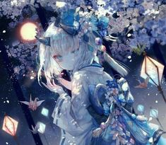 Online store anime merchandise: clothes, figurines, manga and much more. Come and choose for yourself something good and cool ! Girls Anime, Anime Girl Cute, Beautiful Anime Girl, Kawaii Anime Girl, Anime Art Girl, Anime Illustration, Anime Girl Kimono, Estilo Anime, Anime Animals