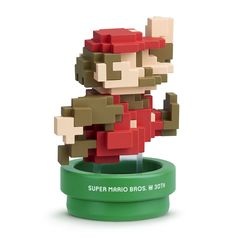 Nintendo of America has now confirmed a Super Mario Maker Wii U and amiibo for North America. The bundle will be exclusive to Walmart and it will include the Wii U, Super Mario Maker, and a brand new amiibo. Super Mario Bros, Super Mario World, Wii U, Nintendo Switch, Lego Mosaic, Caleb, Nike Shoes Online, Mario Bros., Mario Toys