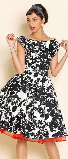 retro swing dress