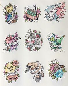 Green Day Nimrod Tattoos