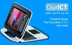 Learn more about the Intel 2-in-1 laptop/tablet device for the #education sector.