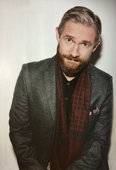 "Martin Freeman by Sarah Dunn from Japanese magazine ""FLIX"" (Release Date: December Though he looks interesting in a beard. Sherlock Bbc, Benedict Cumberbatch Sherlock, Watson Sherlock, Jim Moriarty, Sherlock Quotes, Martin Freeman, British Boys, British Actors, Sarah Dunn"