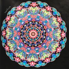 No.34 #曼荼羅ぬりえ #healingmandalas #心を鎮めるマンダラヒーリングbook #プリズマカラー #色鉛筆 #prismacolor #coloredpencil POSCA #大人の塗り絵 #ぬり絵 #塗り絵 #コロリアージュ #塗り絵本 #塗り絵ブック #coloriage #Coloring #coloringbook