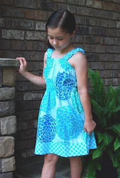 1 Hour Sundress or CoverUp Sizes 6mths-10yrs