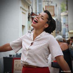 Neige Noire parade en Avignon juillet 2014