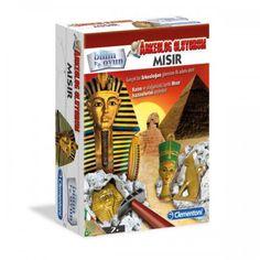 Clementoni Arkeolojik Kazı Seti - Mısır  Bu set ile Mısır'ın hazinelerini keşfedin.Birbirinden eğlenceli eğlenirken öğrenebileceğiniz güzel bir set.
