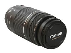 Canon 75-300mm by Canon. With anti-shaken fitur on this camera lens is perfect…