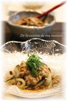 茄子納豆素麺 by mayaさん | レシピブログ - 料理ブログのレシピ満載!