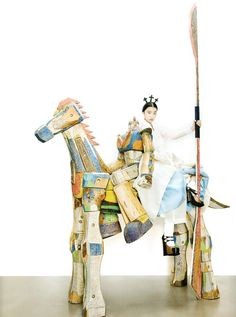Fashion into Art Vogue Korea – August 2012 Issue Photographer: Kang Hyea Won Stylist: Seo Young Hee