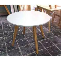 esstisch rondo scandinavia betonoptik 120 oder 140 grau rund esszimmer pinterest tisch. Black Bedroom Furniture Sets. Home Design Ideas