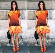 blog alert: miroslava duma does outfit posts