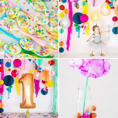 Ruby's Confetti-Filled First Birthday Party - Snapshots & My Thoughts | A Lifestyle Blog by Ailee Petrovic // Powered by chloédigital