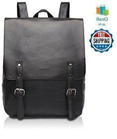 Good and god Pu Crazy Horse Leather-Like Vintage Women's Backpack School Bag New #ZEBELLA #Vintage