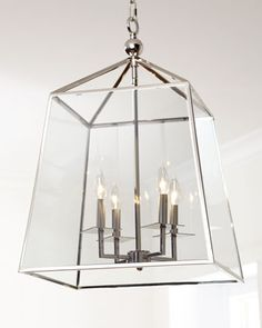 487 horchow 18 inch square  Square+4-Light+Glass+Lantern+by+Regina-Andrew+Design+at+Horchow.