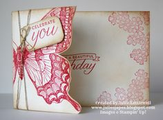 Julie Kettlewell - Stampin Up UK Independent Demonstrator - Order products 24/7: Swallowtail