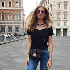 Chiara Ferragni - Moda Feminina Estilo - Look Outfit Women´s Fashion Style