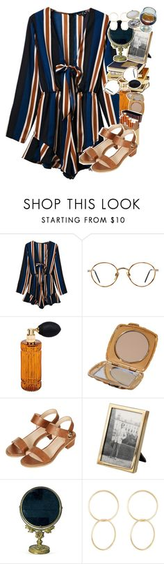 """""""Venice"""" by sparkling-oceans ❤ liked on Polyvore featuring GlassesUSA, Diptyque, duty free, Topshop, Tiffany & Co., Jennifer Fisher and vintage"""
