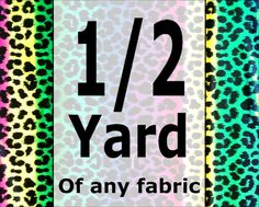 1/2 yard on any fabric. Look around and choose your by JeAdore, $4.25