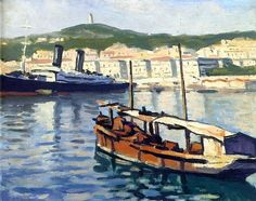 Albert Marquet (French, 1875-1947) > The Port of Algiers