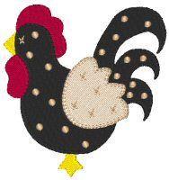 Country Farm 7 Free Embroidery Design                                                                                                                                                                                 Mais