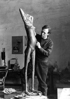 Reg Butler (1913 – 1981) English sculptor).
