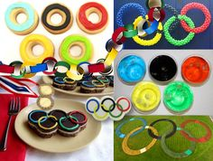 Olympic food party ideas
