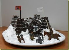 Winterfell GoT cake