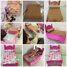 Image result for como hacer muebles en miniatura para casas de muñecas