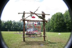 Earth loom:  end of the party.  by junkstar, via Flickr