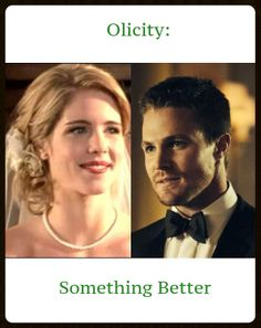 #Arrow #Olicity #wedding #kiss Cover for my book Olicity: Something Better by fourchickies.