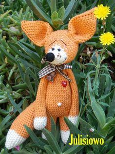 crochet Fox, Ganchillo zorro